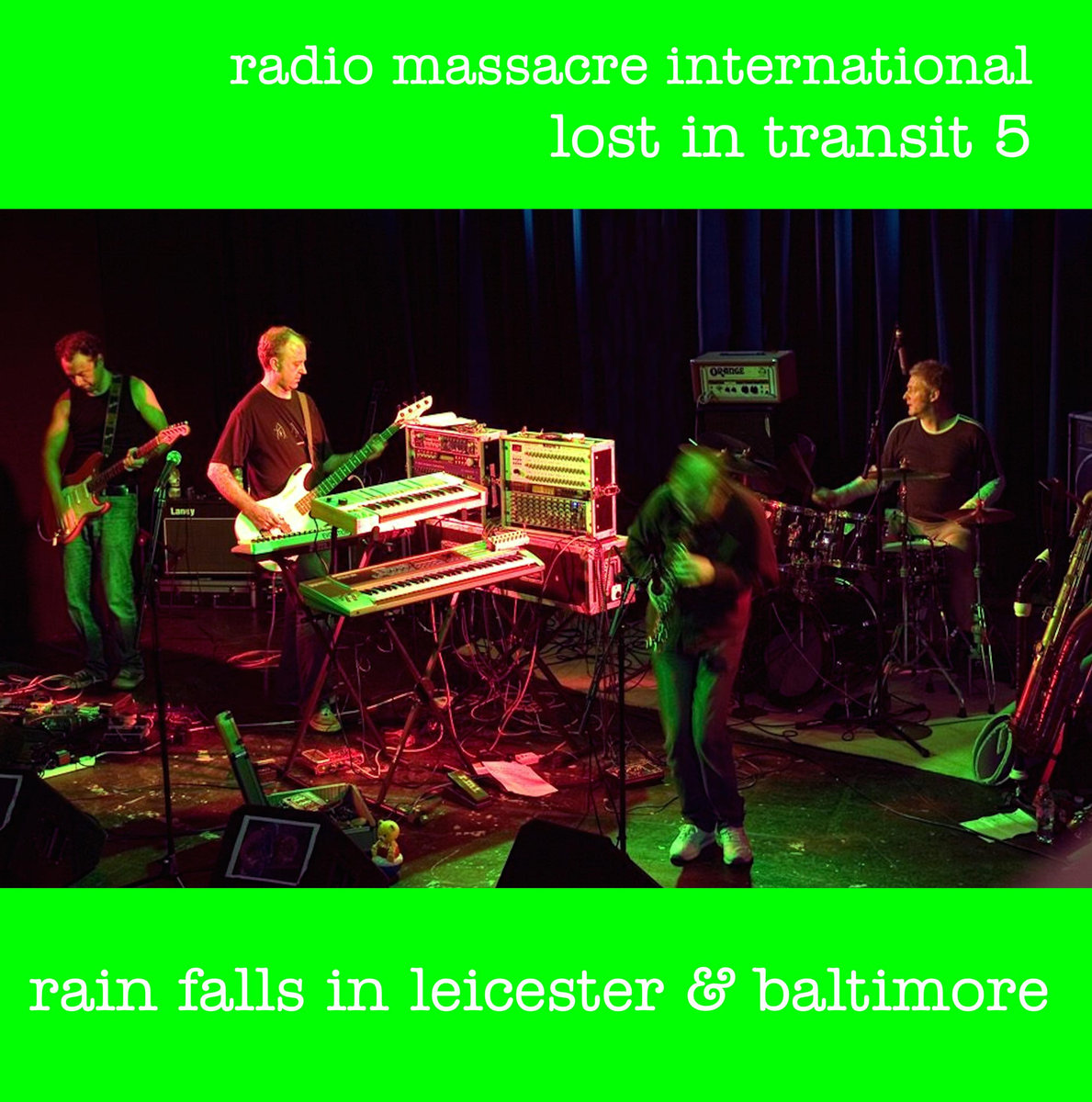 lost in transit 5: rain falls in leicester & baltimore